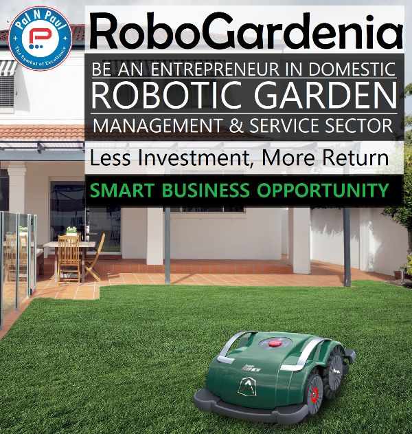 palnpaul robogardenia robotic garden management